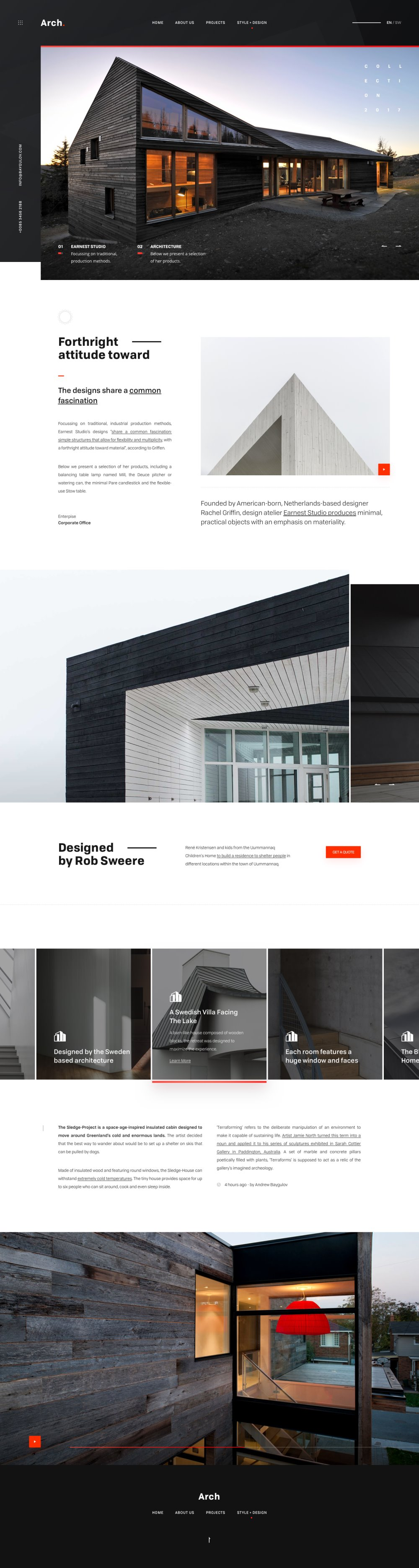 Best Architecture Website Designs