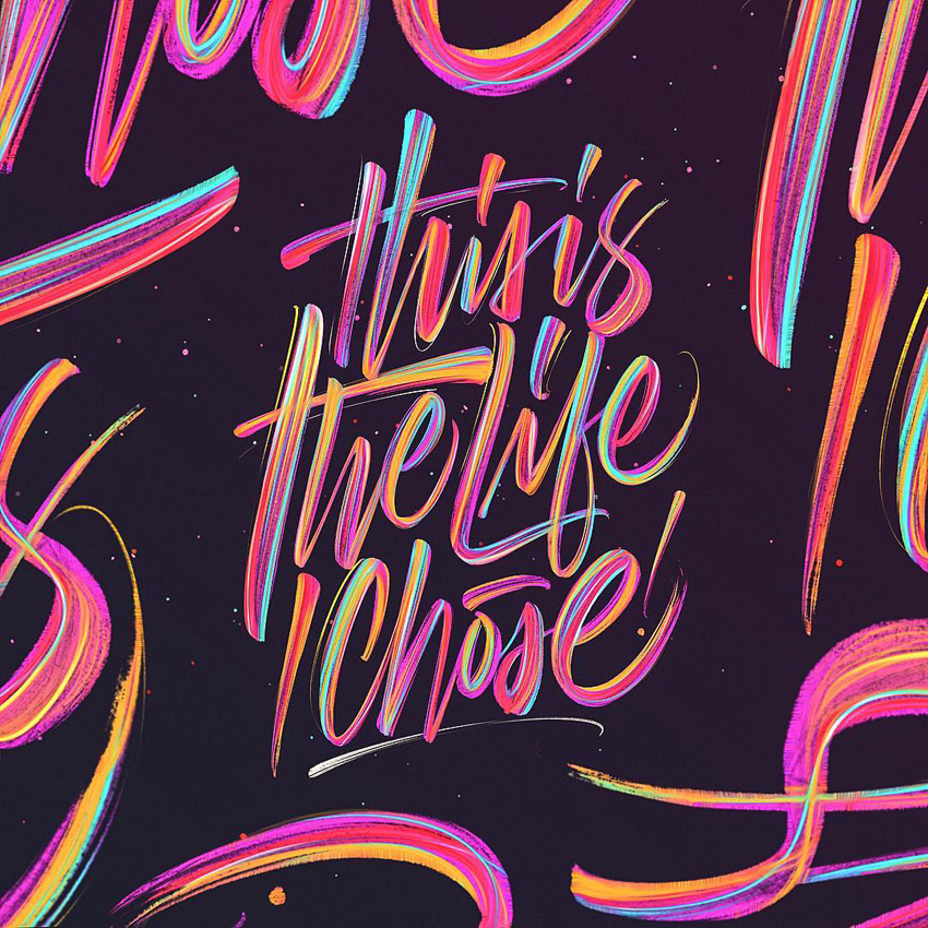 Outstanding Lettering and Typography Designs for Inspiration 44