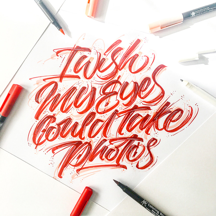 Outstanding Lettering and Typography Designs for Inspiration 49