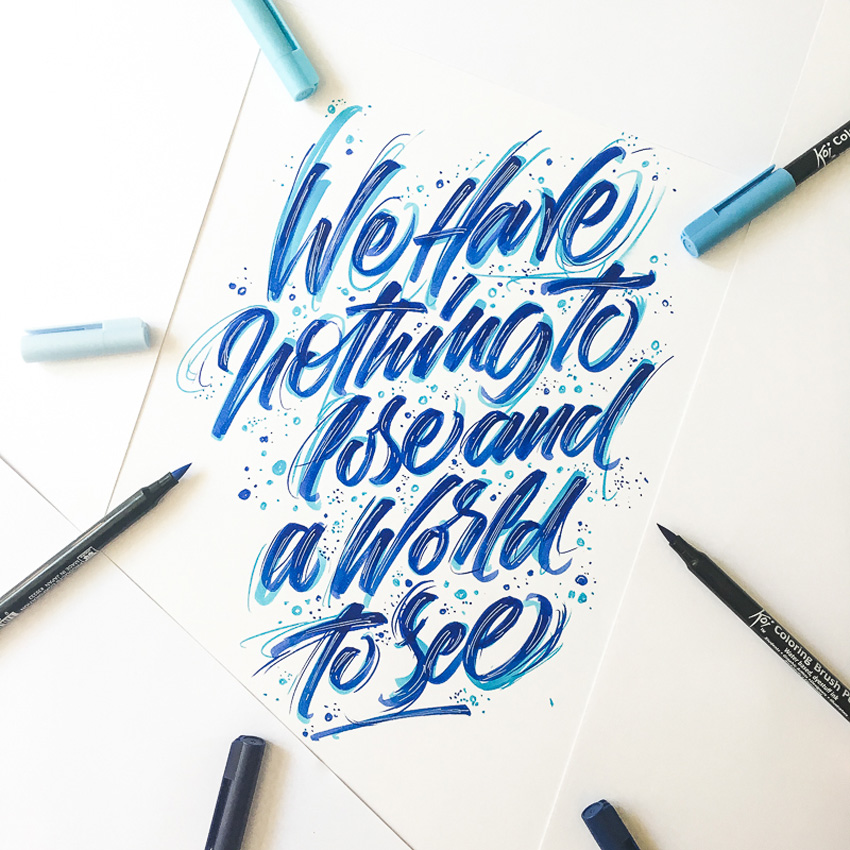 Outstanding Lettering and Typography Designs for Inspiration 52