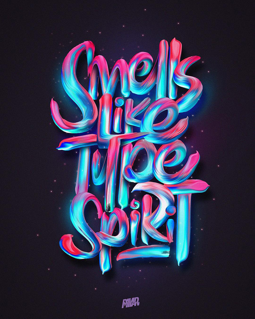 Outstanding Lettering and Typography Designs for Inspiration 56