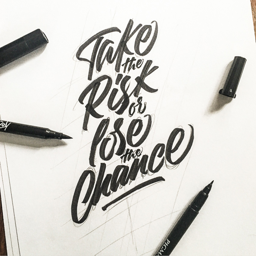 Outstanding Lettering and Typography Designs for Inspiration 38