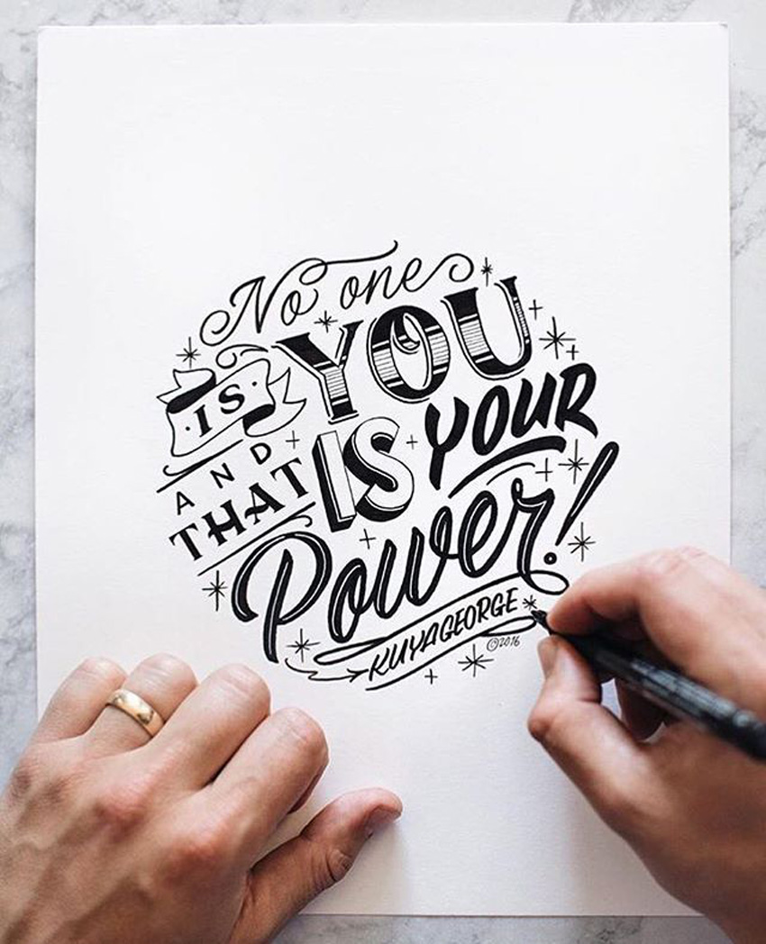 Outstanding Lettering and Typography Designs