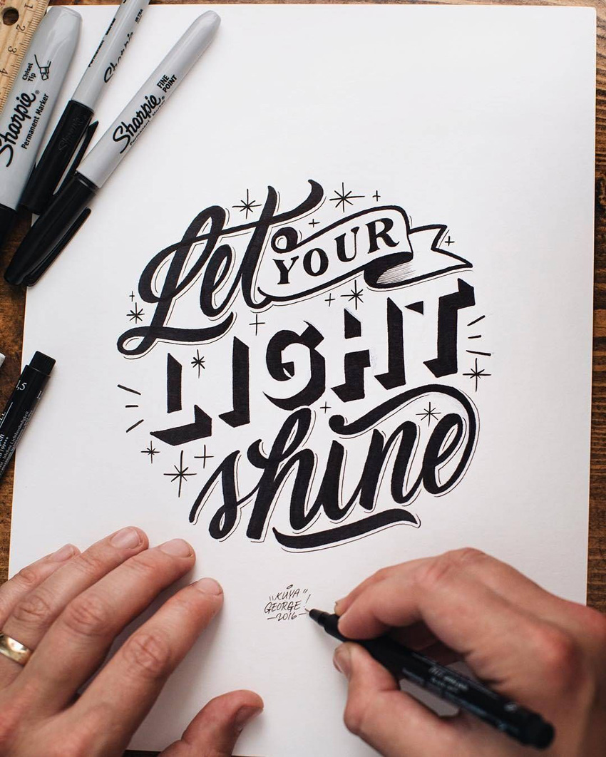Outstanding Lettering and Typography Designs for Inspiration 39