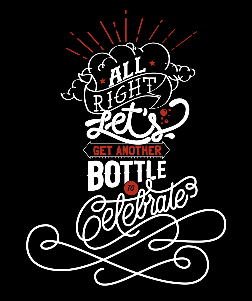 Outstanding Lettering and Typography Designs for Inspiration 40
