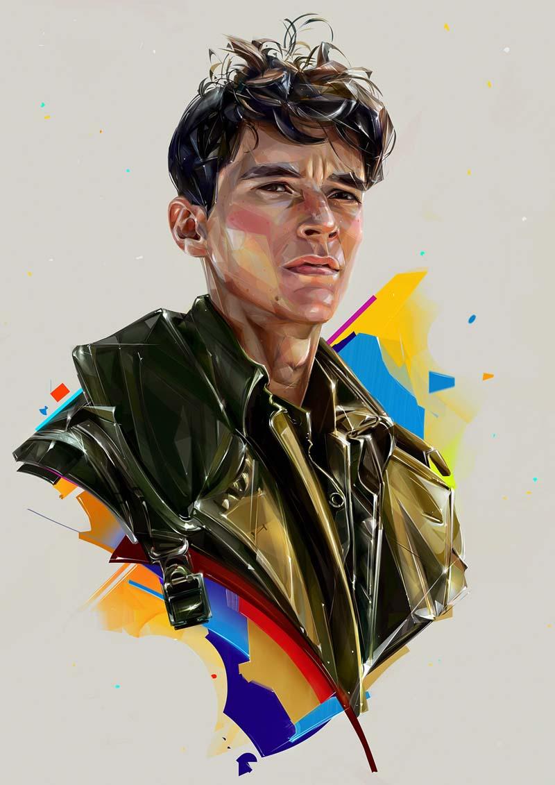 Beautiful-Illustration-Portraits