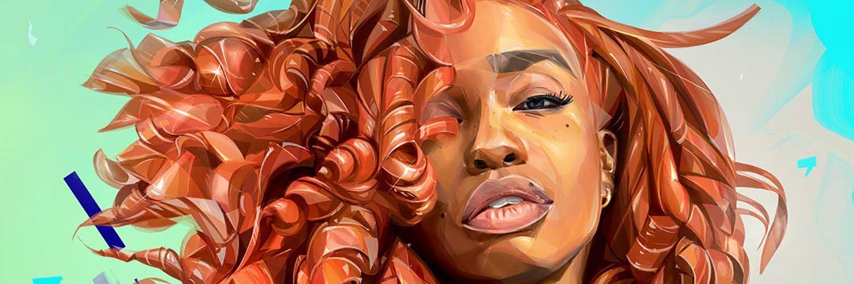 Beautiful Illustration Portraits