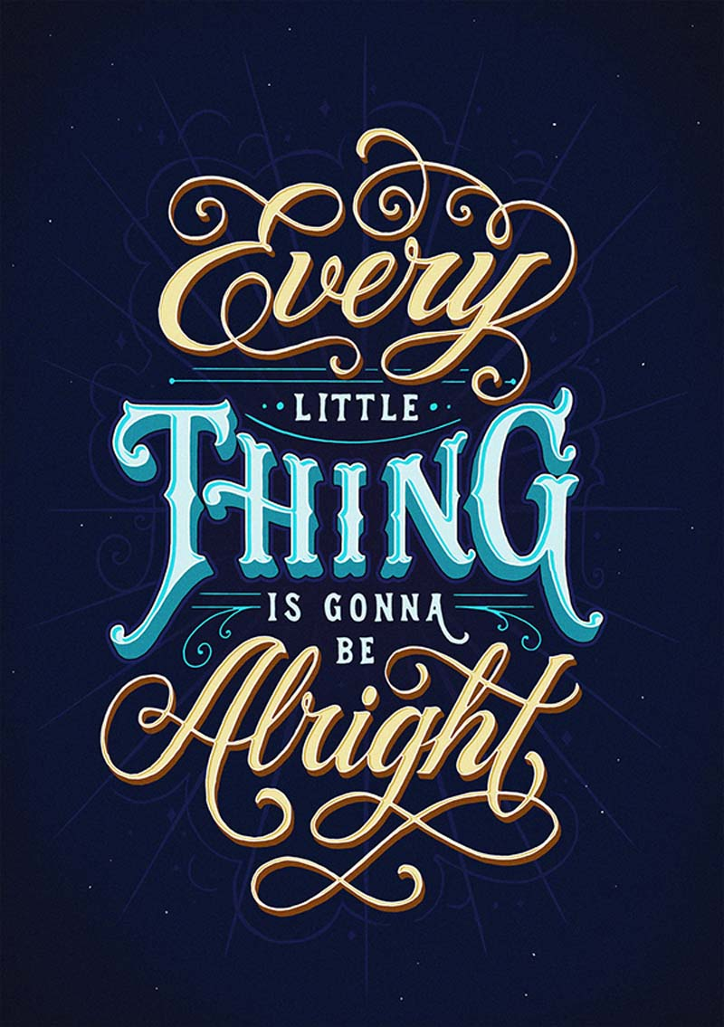 Beautiful and Brilliant Hand Lettering Work of Tobias Saul 4