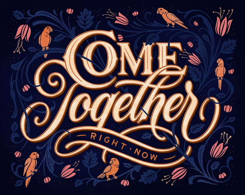 Beautiful and Brilliant Hand Lettering Work of Tobias Saul 1