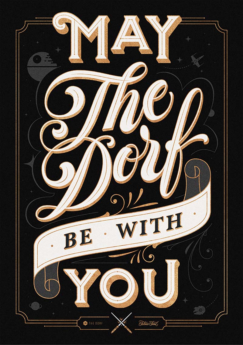 Beautiful and Brilliant Hand Lettering Work of Tobias Saul 2