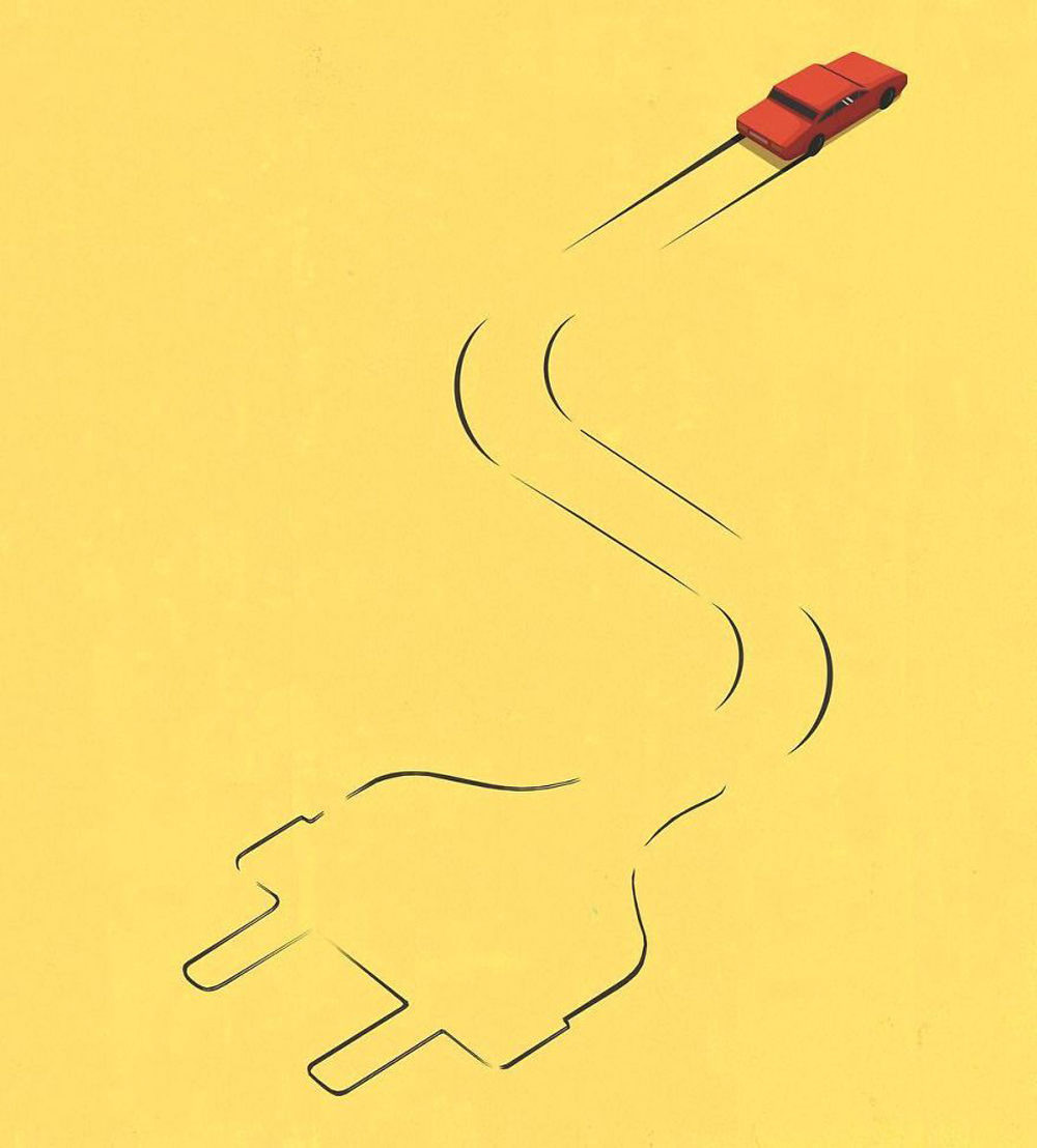 Weird Illustrations about Everyday Lives