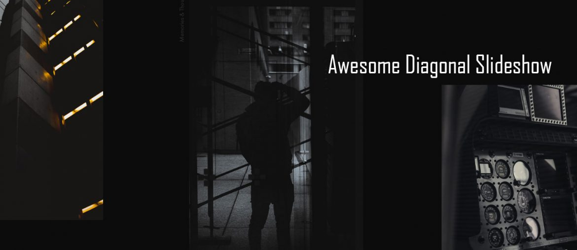 Awesome Diagonal Slideshow