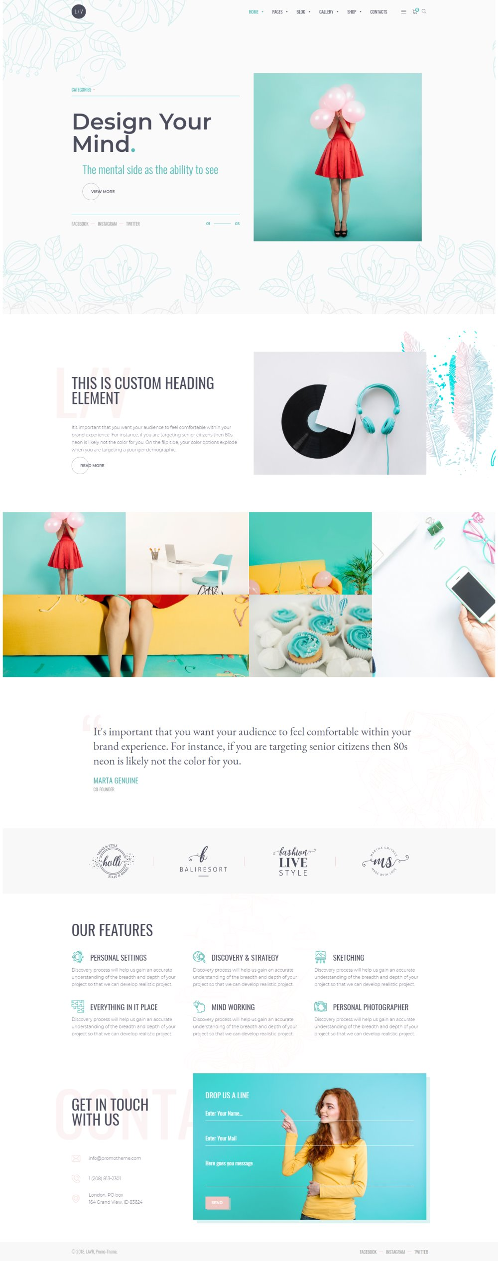 Best WordPress Themes and Web Design for Creatives