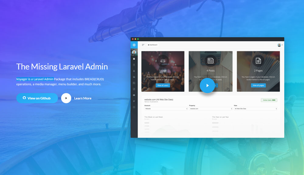 Best Laravel Admin Panel Generators