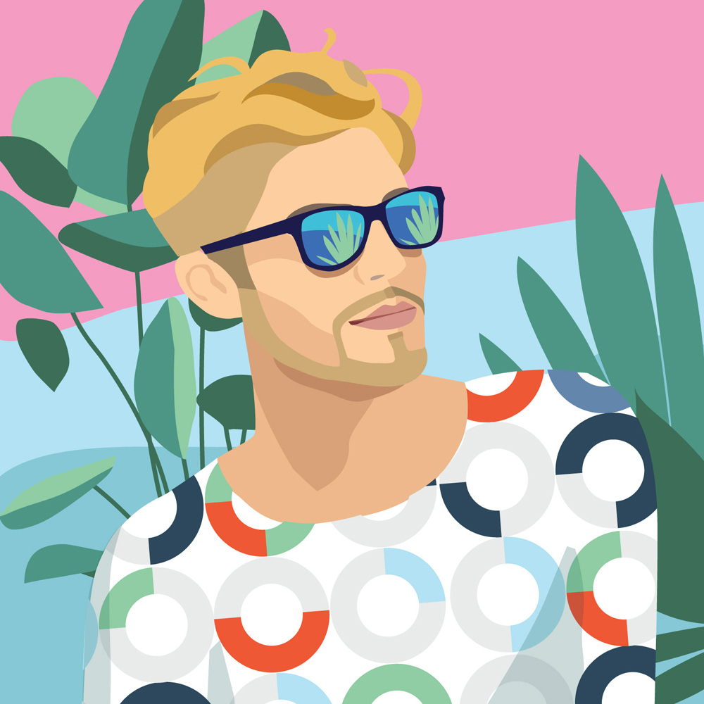 Colorful Portrait Illustrations