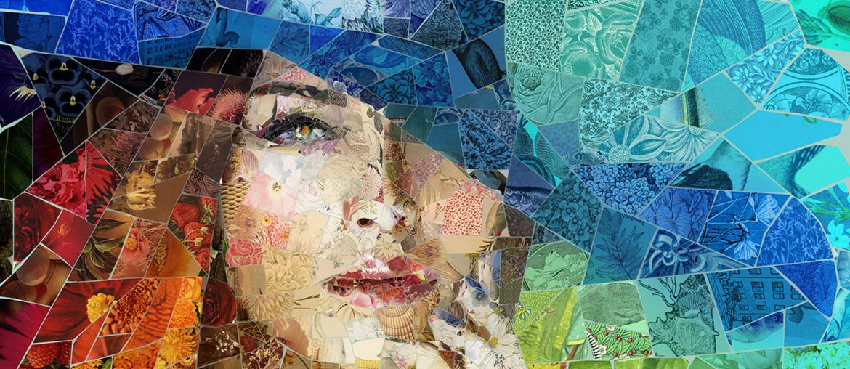 Awesome Digital Mosaic Illustrations