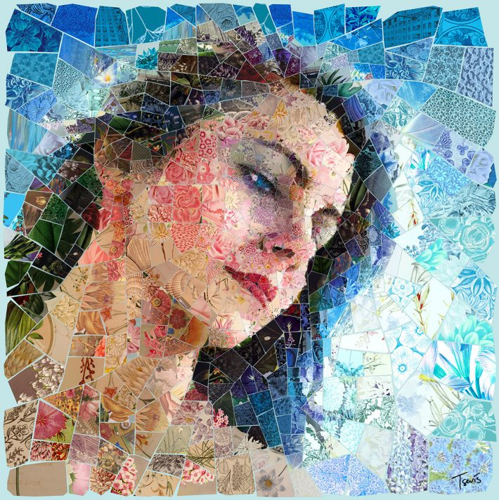 Awesome Digital Mosaic Illustration