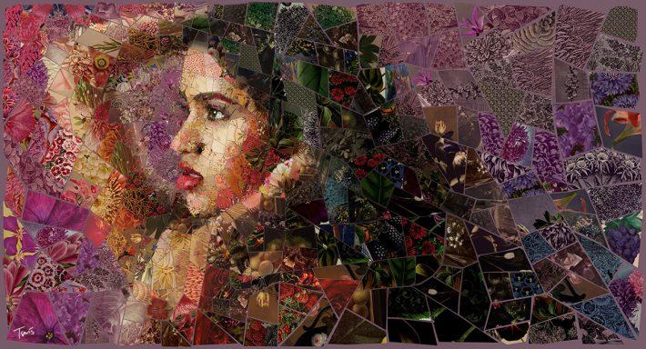 Awesome-Digital-Mosaic-Illustration