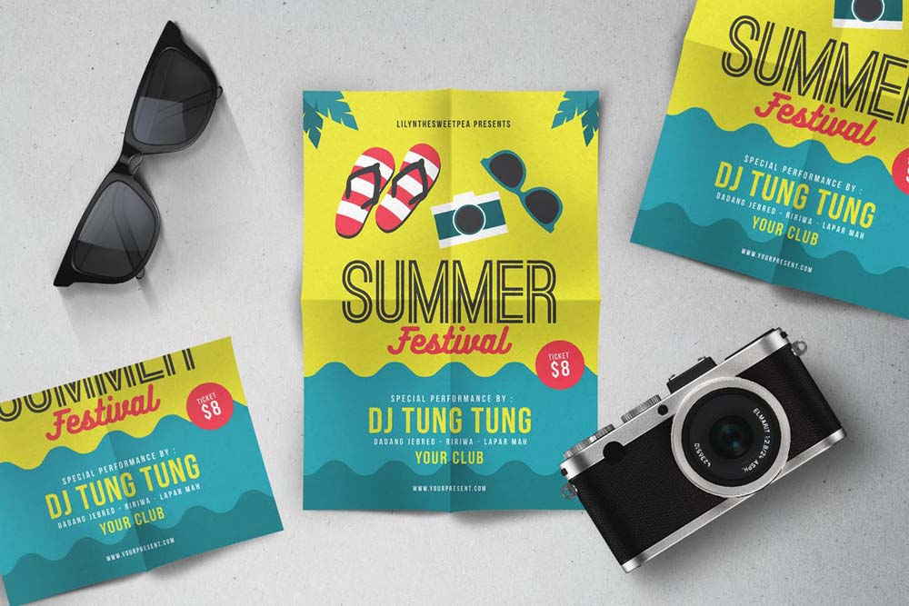 Summer Festival Party Flyer