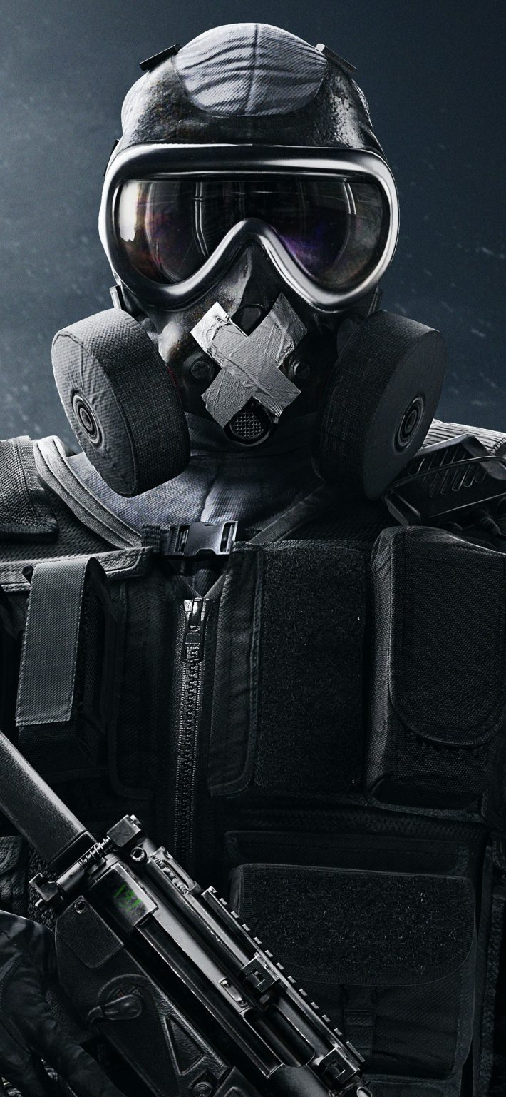 Rainbow Six Siege iPhone X Wallpaper