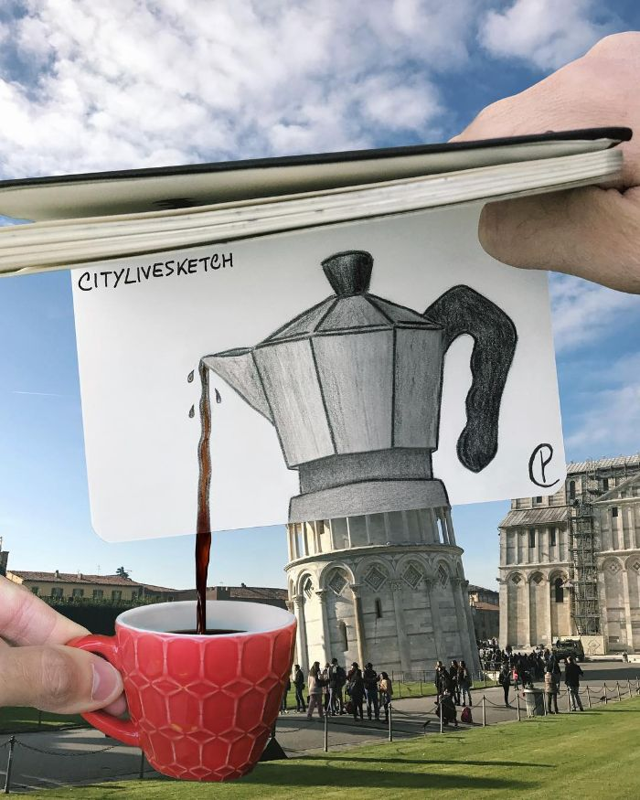 Mind-Bending-Photos-Joining-Together-Drawings-with-Reality