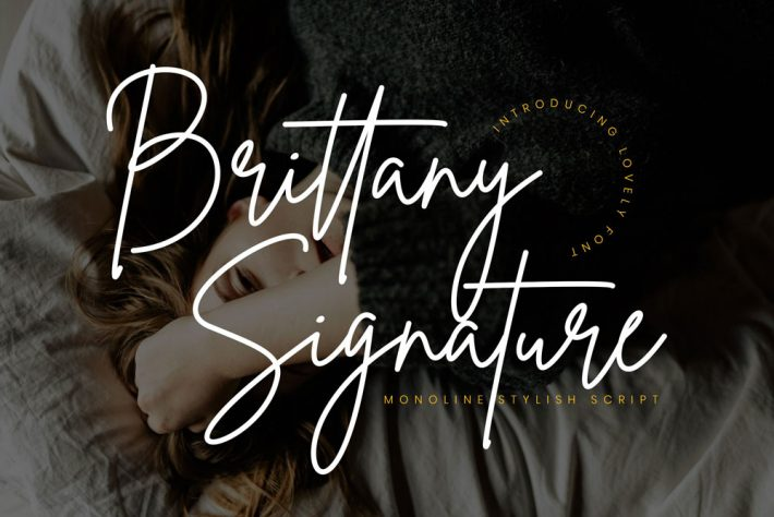 Brittany Signature Free Fonts for Designers