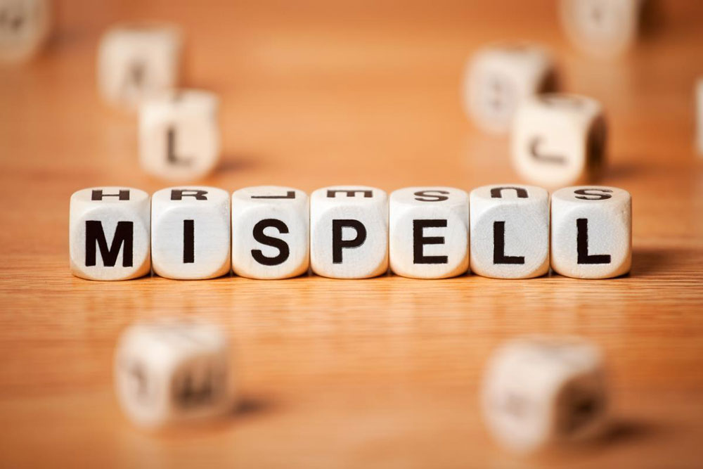 Misspelt Domain