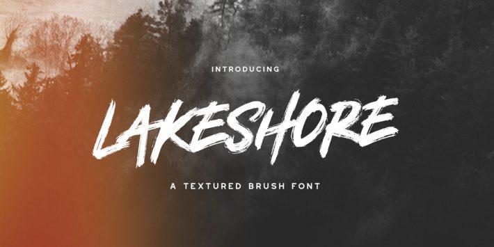 Lakeshore Font – Free Brush Font