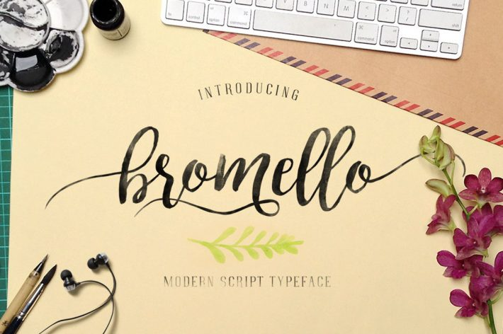 Bromello Font Free Download