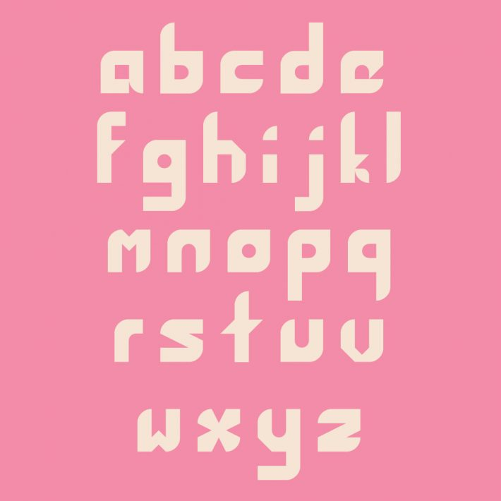Lower case Letters
