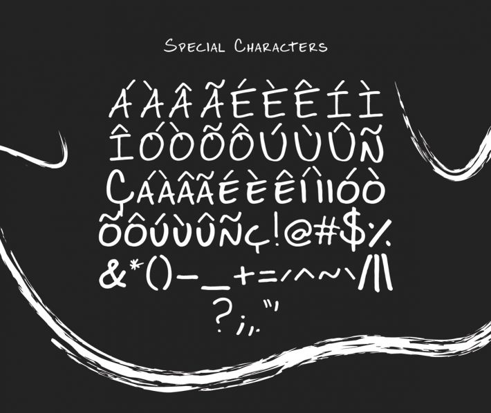 Free Handwritten Display Typeface