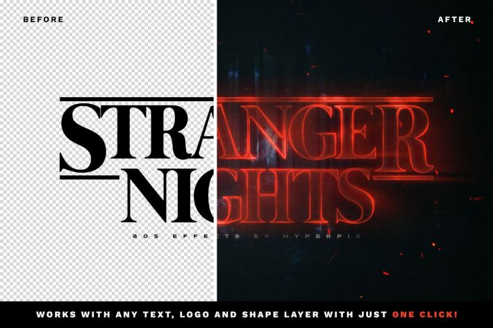 Stranger Things Text Effect